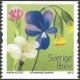 Meadow Flowers, self-adhesive stamp, MINT, 2012