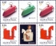 EUROPA - Rocking Horse and Children's car, 4 stamps with labels, MINT, 2015