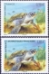 Sea Turtle, Joint Issue TAAF-France, set of 2 stamps, MINT, 2014