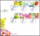 Flowers, set of 2 FDCs, 2013