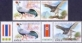 Goshawk and Siamese Fireback, Joint Issue Thailand-Korea, set of 2 stamps sets, MINT, 2015