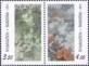 Apricot flowers on Chinese paintings, set of 2 stamps, MINT, 2011