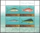 Fish of Tokelau, souvenir sheet, MINT, 2012