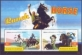 Ranch Horse /Bequia/, souvenir sheet with 2 stamps, MINT, 2011
