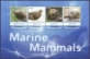 Marine Mammals /Canouan/, souvenir sheet with 4 stamps, MINT, 2012