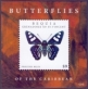 Butterflies /Bequia/, souvenir sheet with 1 stamp, MINT, 2012
