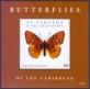 Butterflies, souvenir sheet with 1 stamp, MINT, 2012