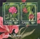 Garden Flowers, souvenir sheet with 2 stamps, MINT, 2014