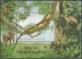 Green Water Dragon (Physignathus cocincinus), souvenir sheet, MINT, 2006