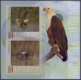 Flight of the African Fish Eagle, souvenir sheet, MINT, 2013