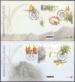 100 years Kirstenbosch National Botanical Garden, set of 2 FDCs, 2013