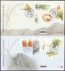 100 years Kirstenbosch National Botanical Garden, set of 2 FDCs, 2013